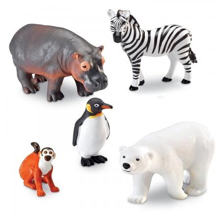 Joc de rol - Animalute de la Zoo Learning Resources.*