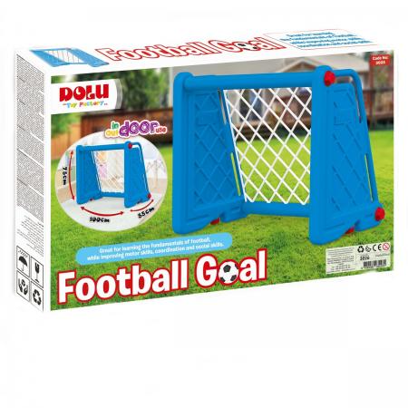 Poarta fotbal pentru copii - Albastra Dolu.*