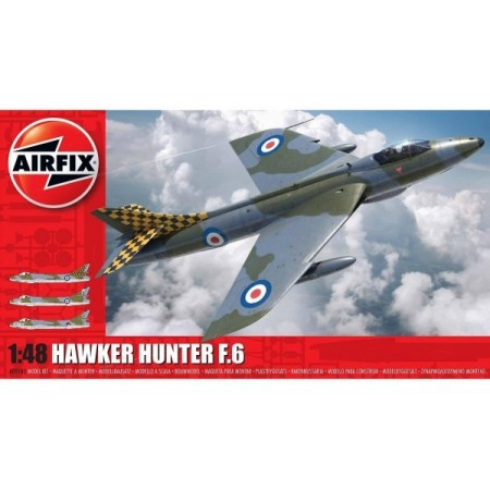 Kit constructie Airfix avion Hawker Hunter F6 1:48*