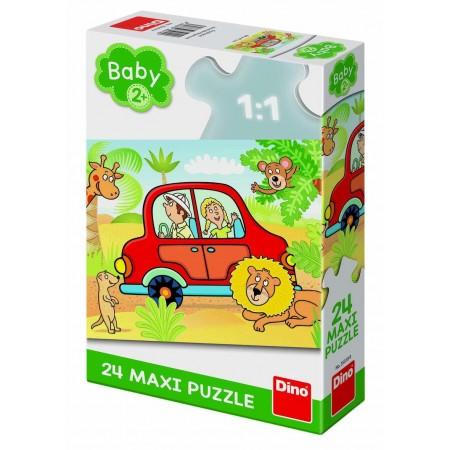 Puzzle de podea - Safari (24 piese) Dino Toys.*