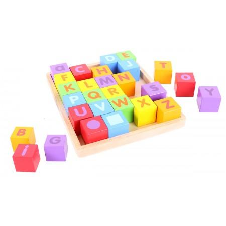 Cuburi pentru format cuvinte - ABC Bigjigs.*