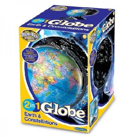 Glob 2 in 1 - Pamantul si constelatiile Brainstorm.*