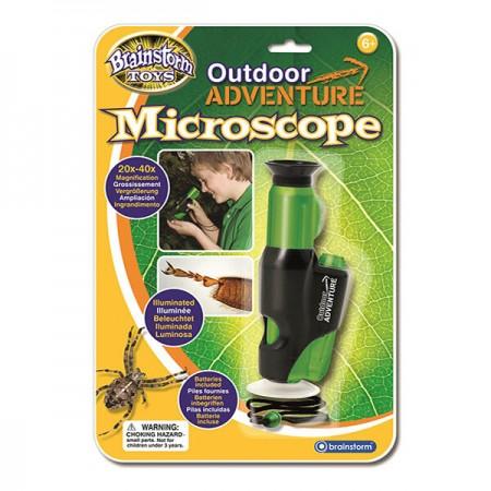Microscop portabil cu LED Brainstorm.*