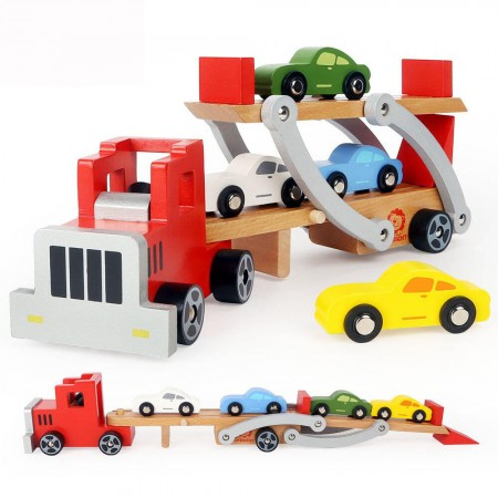 Camion cu platforma auto Topbright.*