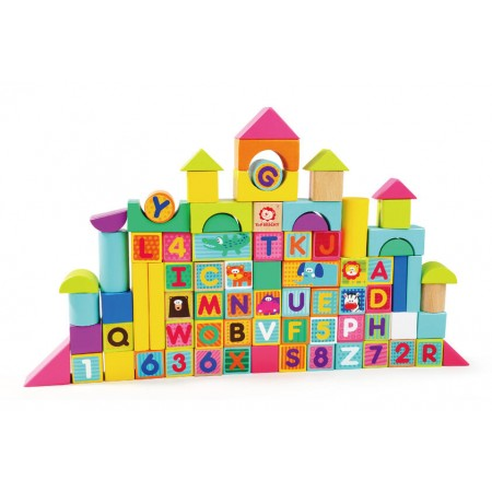 Cuburi pentru construit -  Animalute jucause Topbright.*