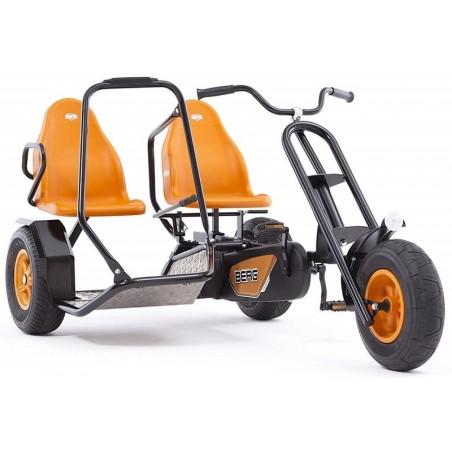Kart cu pedale Berg Duo Chopper BF, 2 persoane, portocaliu