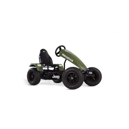 Kart cu pedale Berg Jeep Revolution BFR-3, verde