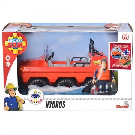 Masina de pompieri Simba Fireman Sam, Sam Hydrus cu figurina si accesorii*