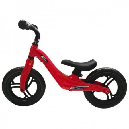 Bicicleta fara pedale 12 inch Rosie foarte usoara 2kg inaltime reglabila roti EVA cadru magneziu Skillmax.*