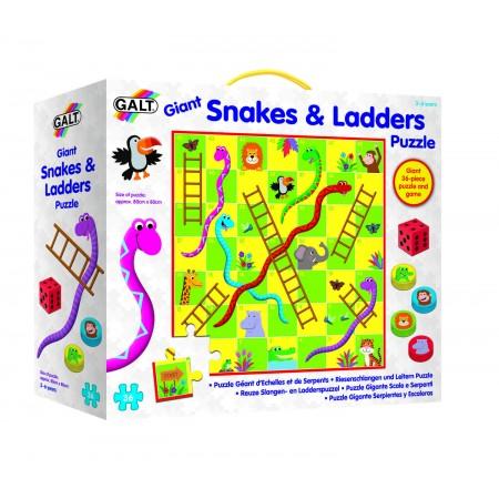 Puzzle de podea & Joc - Serpi si scari Galt.*