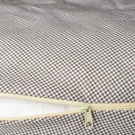 Perna pentru gravide si alaptat COMFORT GRID 170 cm cu poliester Womar Zaffiro AN-PK-17GR, maro*