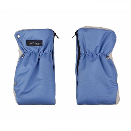 Manusi universale pentru carucior saniuta Womar Zaffiro AN-RM-02, albastru turquoise*
