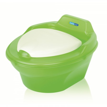 Olita muzicala Potty Pop BebeduE 60110, verde*