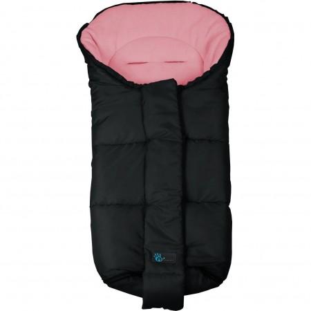 Sac de iarna pentru carucior Nordic Line  Altabebe AL2277, negru/roz*