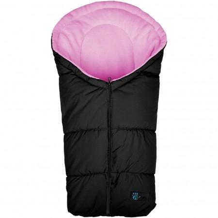 Sac de iarna pentru scaun auto si landou Active Collection Altabebe AL2006, negru/roz*