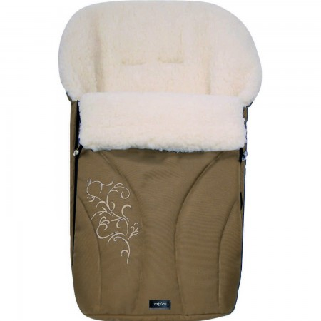 Sac de iarna Snowflake N25 din lana oaie Womar Zaffiro AN-SW-25, maro*
