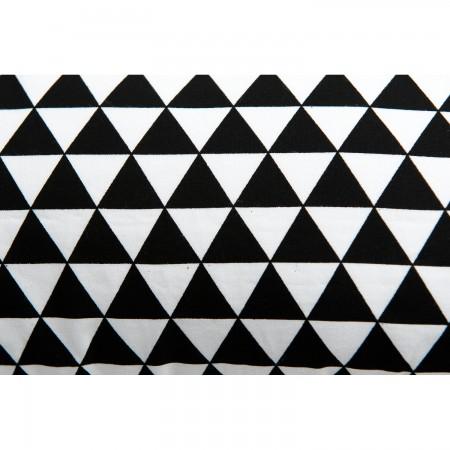 Perna pentru gravide si alaptat COMFORT EXCLUSIVE 160 cm cu poliester Womar Zaffiro AN-PK-16CE, alb/negru*