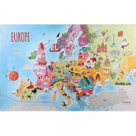 Harta Europei Tuloko TL006*