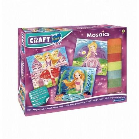 Pachet Kit Mozaic  3 in 1 Brainstorm Toys C7200*