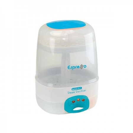 Sterilizator electric cu aburi 6 biberoane Espresso BebeduE BD80101*