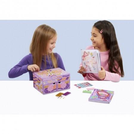 Kit Mozaic Cutie de Bijuterii Brainstorm Toys C7251*