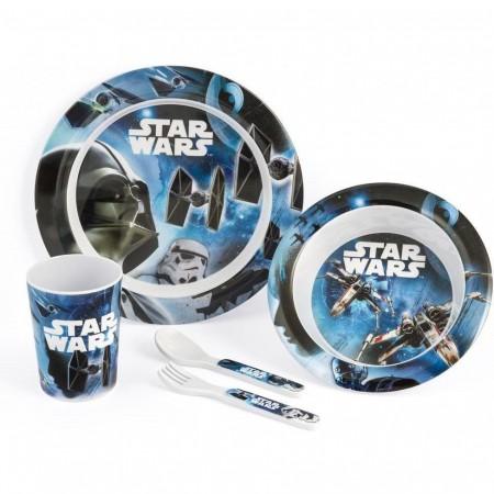Set pentru masa melamina 5 piese Star Wars Rogue One Lulabi 8330500*