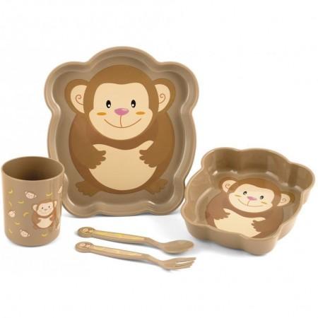 Set pentru masa 5 piese Maimutica Lulabi 7973095*