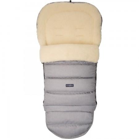 Sac de iarna iGrow Eco din lana oaie Womar Zaffiro 3Z-SW-20M, gri deschis*