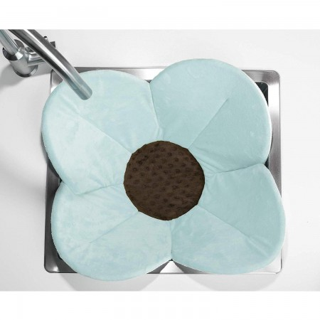 Cadita de plus si salteluta de joaca Poppy BloomingBath BB106P, albastru*