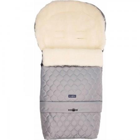 Sac de iarna Sleep and Grow BULB N20 din lana oaie Womar Zaffiro AN-SW-20B, gri deschis*