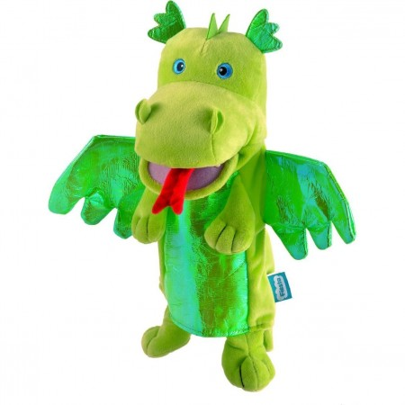 Marioneta de mana Dragonul Verde Fiesta Crafts FCT-2186*
