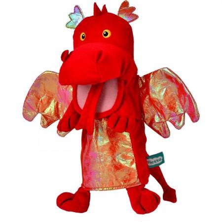 Marioneta de mana Dragonul Rosu Fiesta Crafts FCT-2363*