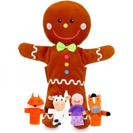 Set Marionete Omul de turta dulce Fiesta Crafts FCT-2734*