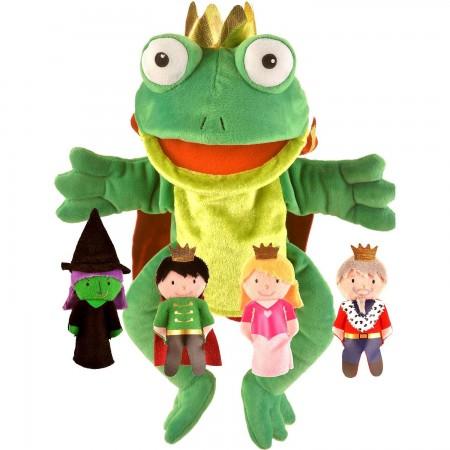 Set Marionete Printul Broscoi Fiesta Crafts FCT-2784*