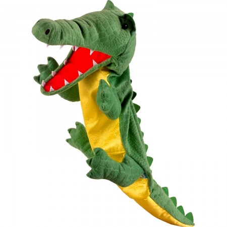 Marioneta de mana Crocodil Mare Fiesta Crafts FCT-2740BIG*