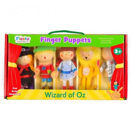 Set 5 Marionete pentru deget Vrajitorul din Oz Fiesta Crafts FCT-2379*