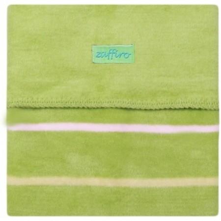 Paturica bebelusi Bumbac Linii 75x100 Womar Zaffiro AN-KBL-01, verde*
