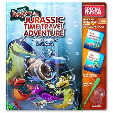 Set Reincarcare Aqua Dragons Jurassic Time Travel Adventure World Alive W4051*