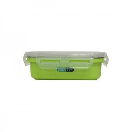 Recipient hrana copii inox Colours and Flavours 300ml  BebeduE BD80220, verde*