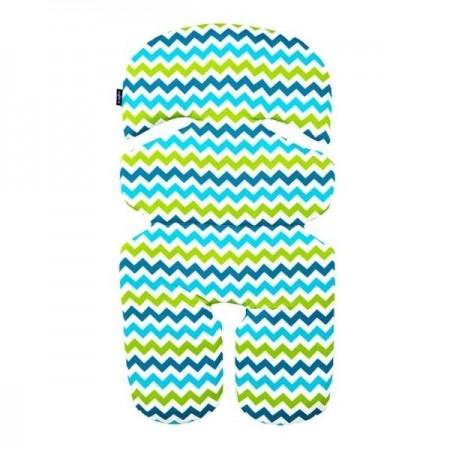Perna pentru cosulet N1 Bumbac Womar Zaffiro 3Z-PWF-01, albastru/verde*