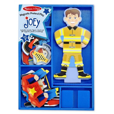 Set magnetic Sa-l imbracam pe Joey Melissa and Doug