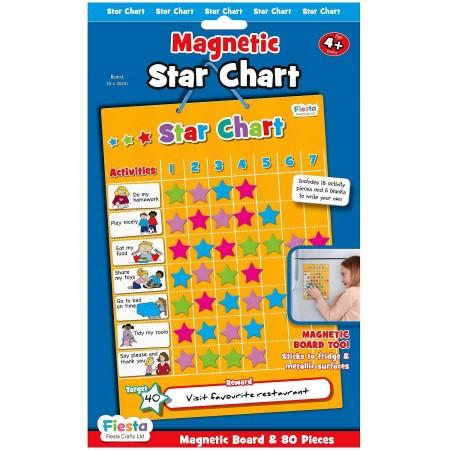 Grafic magnetic de recompense cu stelute Fiesta Crafts FCT-2338*