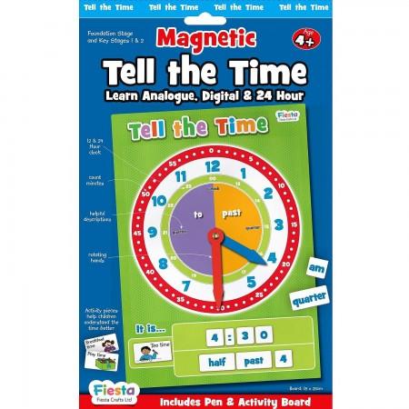 Set magnetic Cat e Ceasul Fiesta Crafts FCT-2763*