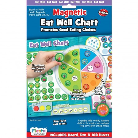 Set magnetic Mananca sanatos - Eat Well Chart Fiesta Crafts FCT-2946*