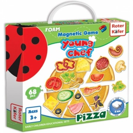 Joc educativ magnetic Pizza Roter Kafer RK2030-01*