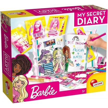 Jurnalul meu secret cu Barbie, Lisciani*