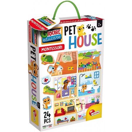 Joc Montessori - Casuta animalelor de companie, Lisciani*