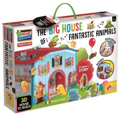 Joc Montessori - Casuta animalelor fantastice, Lisciani*
