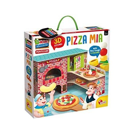 Joc Montessori - Pizzeria mea, Lisciani*