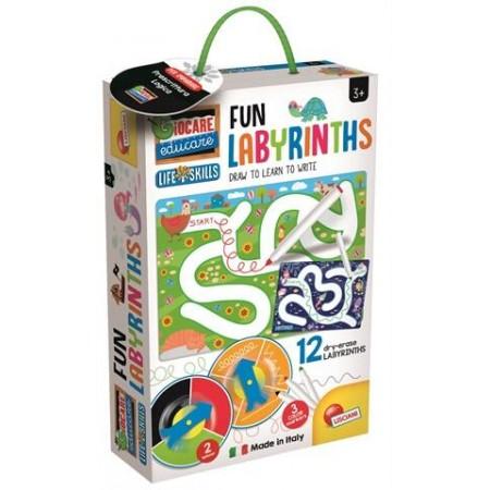 Joc Montessori - Labirinturi amuzante, Lisciani*